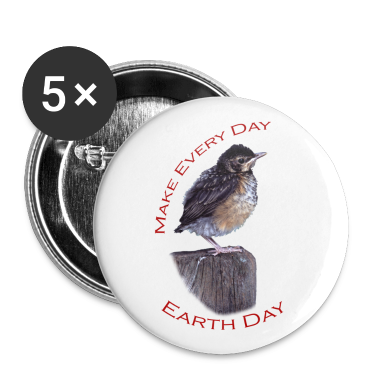 Baby Robin, Make Every Day, Earth Day