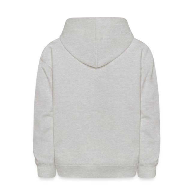 Kid's Hooded Sweatshirt with Logo front