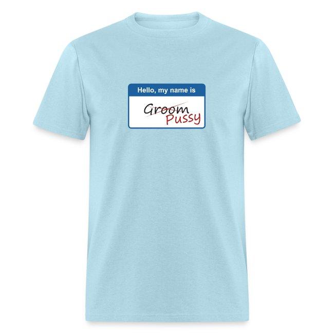 Hello, my name is Groom