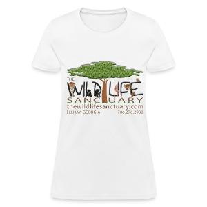 Women's Standard Weight T-Shirt with Logo front - Women's T-Shirt