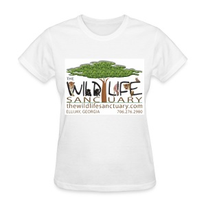 Women's Standard Weight T-Shirt with Logo front - Women's T-Shirt