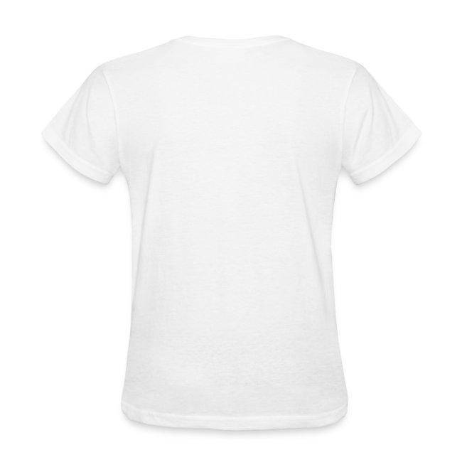 Women's Standard Weight T-Shirt with Logo front
