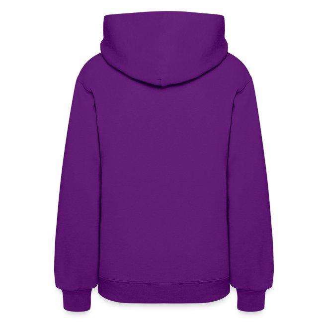 Woman's Hooded Sweatshirt with Stylized Logo