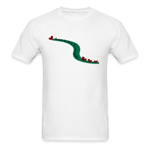 WUBT 'Love Is My True Path--DIGITAL DIRECT' Men's Standard Tee, White - Men's T-Shirt