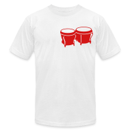 T-Shirts ~ Men's T-Shirt by American Apparel ~ Bongos