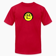 Red Smiling Face With Helmet And Goggles T-Shirts
