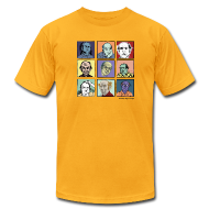 T-Shirts ~ Men's T-Shirt by American Apparel ~ Am. App Men's lemon yellow Pekar Tee