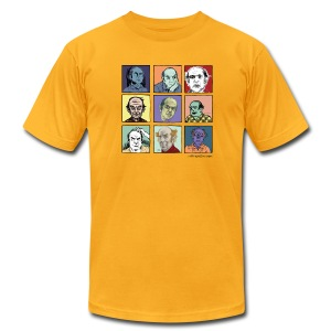 Am. App Men's lemon yellow Pekar Tee - Men's T-Shirt by American Apparel