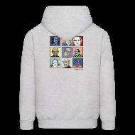 Hoodies ~ Men's Hoodie ~ Men's Hooded Pekar Sweatshirt