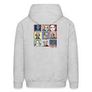 Hoodies ~ Men's Hoodie ~ Men's Hooded Pekar Sweatshirt