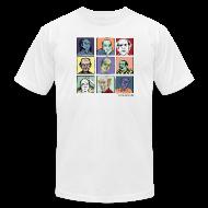 T-Shirts ~ Men's T-Shirt by American Apparel ~ Am App white Men's Pekar Tee