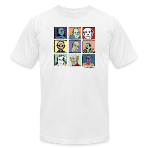 Am App white Men's Pekar Tee - Men's Fine Jersey T-Shirt