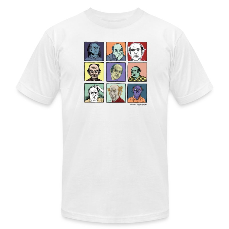 Am App white Men's Pekar Tee - Men's T-Shirt by American Apparel