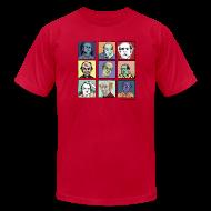 T-Shirts ~ Men's T-Shirt by American Apparel ~ Am App Men's light blue Pekar Tee