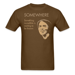 Carl Sagan - Somewhere - Men's T-Shirt