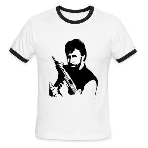 Chuck Norris - Men's Ringer T-Shirt