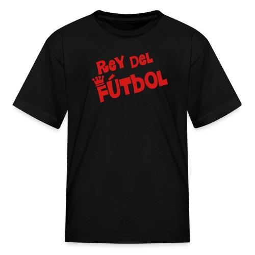 Rey del Futbol blk - Kids' T-Shirt