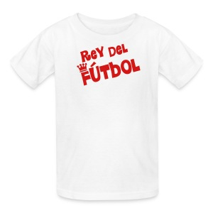 Rey del Futbol white - Kids' T-Shirt