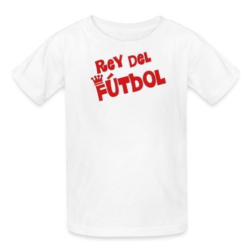 Rey del Futbol white - Kids' T-Shirt
