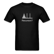 T-Shirts ~ Men's T-Shirt ~ Hanoi Recursion (on Dark)