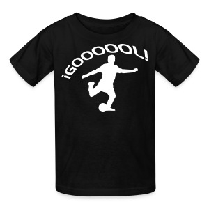 Goool blk - Kids' T-Shirt