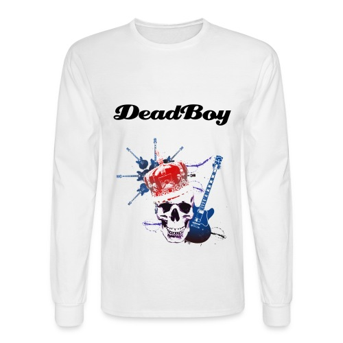 White DeadBoy - Men's Long Sleeve T-Shirt