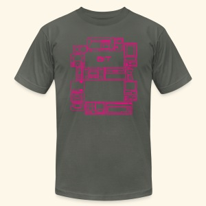8-Bit-Hardware - Men's T-Shirt by American Apparel