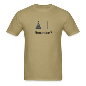 Hanoi Recursion (on Choice) - Men's T-Shirt