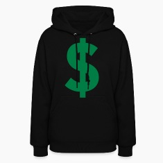 Black Dollar Sign Hoodies