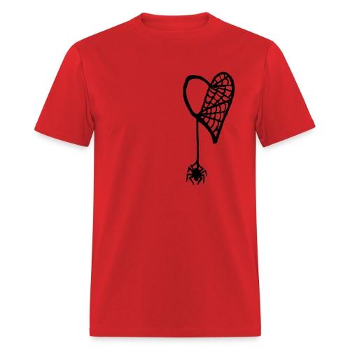 Cobweb Heart Tee - Men's T-Shirt