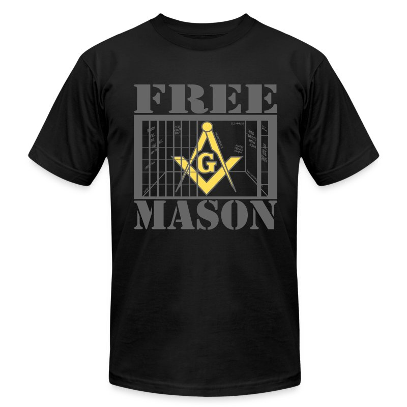 Free mason t shirt spreadshirt for Mason s men s shirts