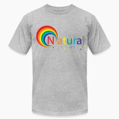 Heather grey natural colour T-Shirts