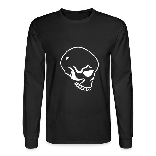 Skully Black - Men's Long Sleeve T-Shirt