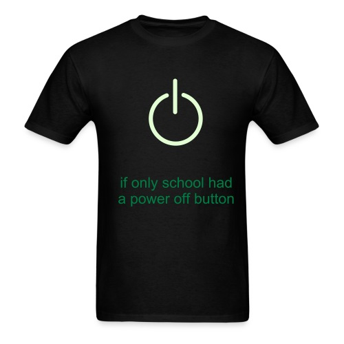 power off - Men's T-Shirt