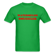 T-Shirts ~ Men's T-Shirt ~ watermelon smuggler for MEN!
