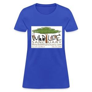 Women's Standard Weight T-Shirt with Stylized Logo  - Women's T-Shirt