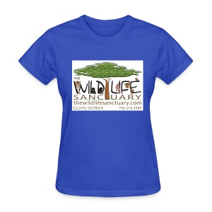Women's Standard Weight T-Shirt with Stylized Logo  - Women's T-Shirt