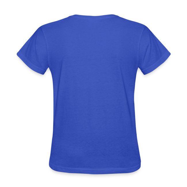Women's Standard Weight T-Shirt with Stylized Logo