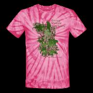 T-Shirts ~ Unisex Tie Dye T-Shirt ~ Unisex Tie Dye T-Shirt with Stylized logo