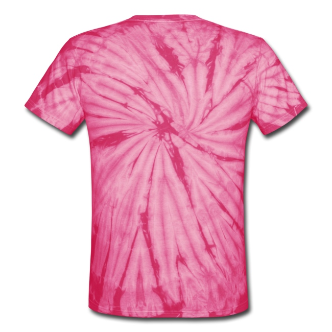 Unisex Tie Dye T-Shirt with Stylized logo