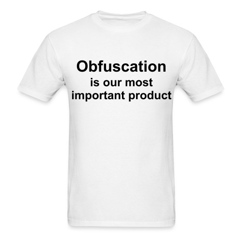 Obfuscation - Men's T-Shirt