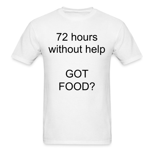 GotFoodWater - Men's T-Shirt