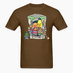 Evil Clown T Shirt Burt N' Ernie