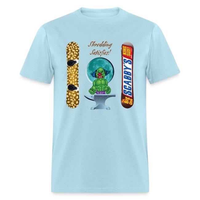 2a62e8ed0b1 Evil Clown T Shirt Snickers Snowboard Design | Men's T-Shirt