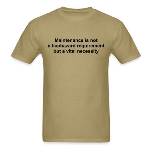 Maintenance - Men's T-Shirt