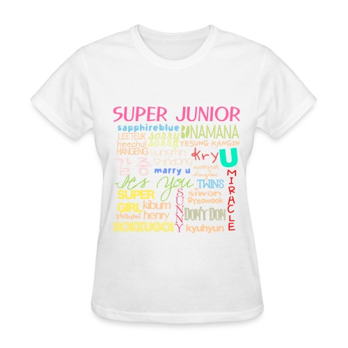 (SJ) - Collage - Women's T-Shirt