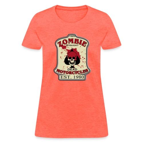 Womens Standard Zombie Motorcycles - Women's T-Shirt