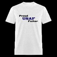 T-Shirts ~ Men's T-Shirt ~ Air Force Dad