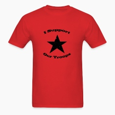 Red support our troops T-Shirts