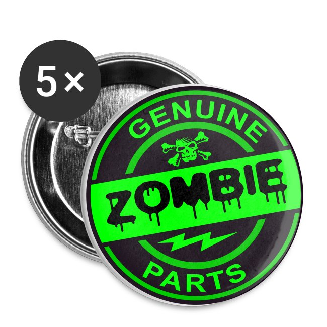 Zombie Parts Pins
